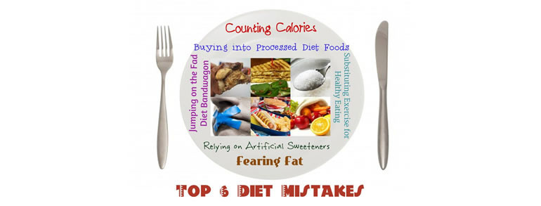 Top 6 Diet Mistakes