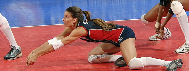 Ankle Sprains and Volleyball Players